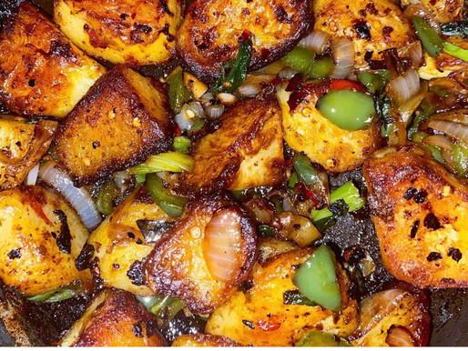 Salt & Chilli Roast Potatoes Recipe