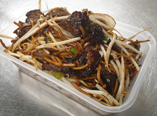Beef Chow Mein (dry) Recipe list