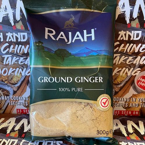 Rajah Ground Ginger (NOT sand ginger) 300g