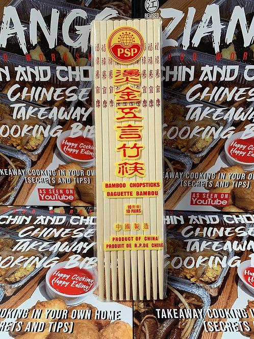 10 Pair of Chop Sticks