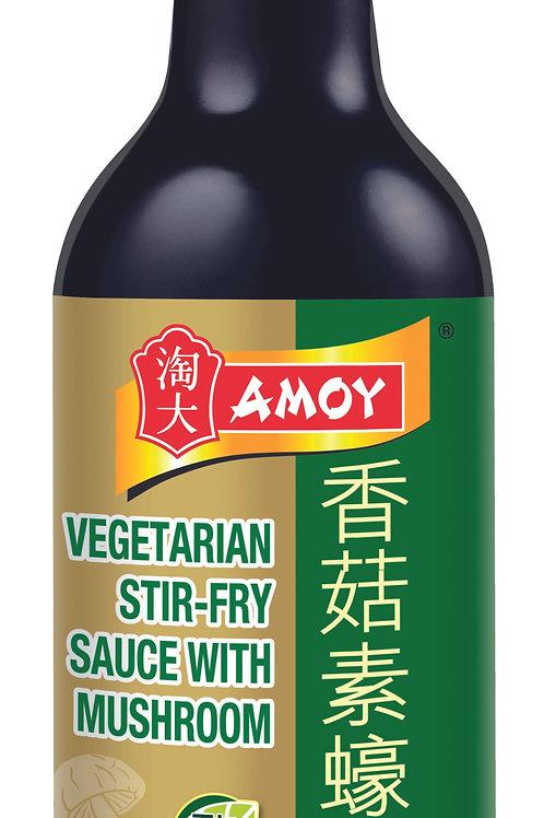 Amoy Vegetarian (oyster sauce) stir-fry sauce with mushrrom 555g