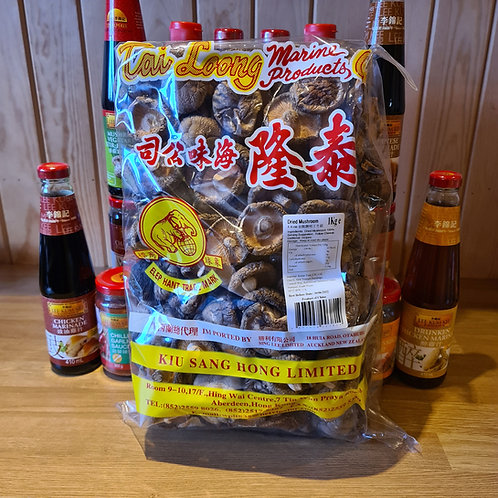 Dried Chinese Mushrooms 1kg