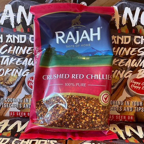 Rajah Crushed Red Chilli flakes 200g