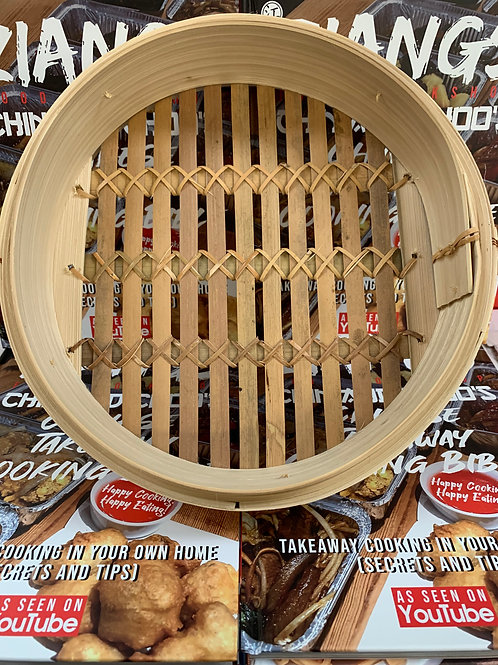 10 inch Bamboo Steamer Base (Lid sold separately)