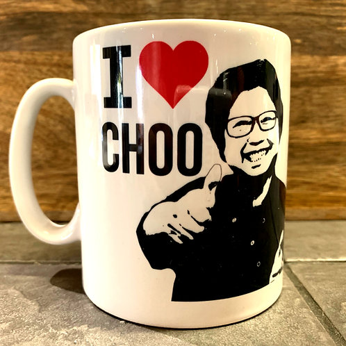 I Heart Choo Mug