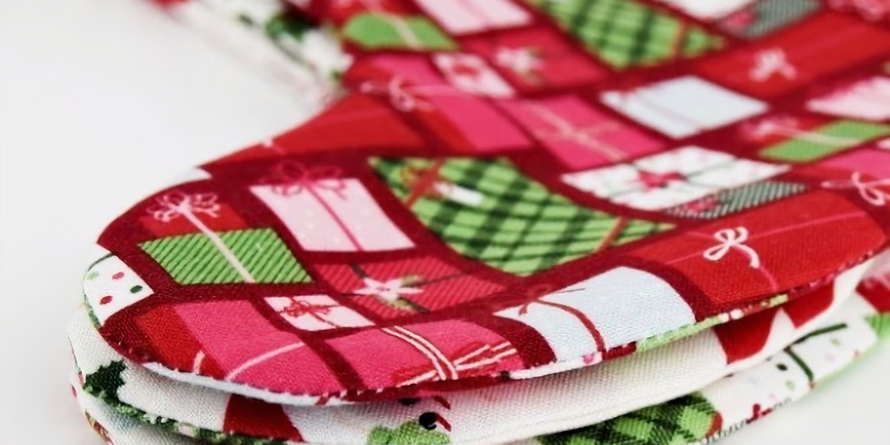 """Sewing workshop """"Christmas Stocking""""/Christmas Boot for present. Our WORKSHOP goes in English."""