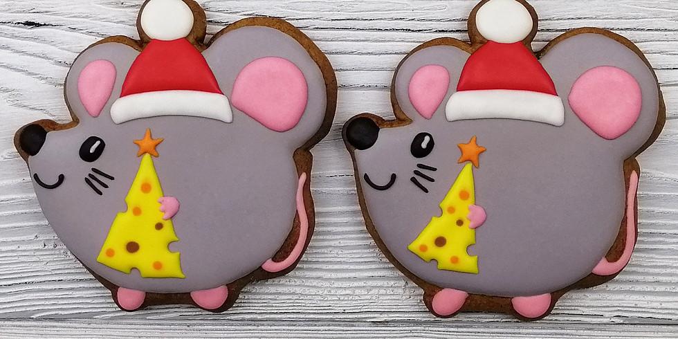 "Gingerbread Christmas Tree Cookies ""Gingerbread cookies""/ Our WORKSHOP goes in English."