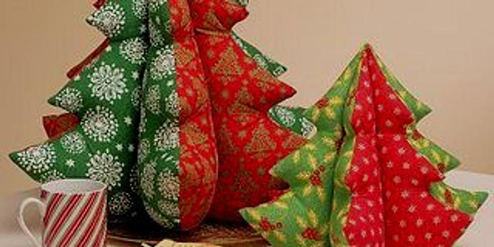 Мастер-класс «Текстильная ЕЛЬ» (для детей и родителей).