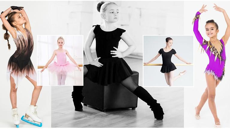 """1 уровень """"БЕЙСИК"""" бально-спортивные платья «Dancing & Sports» (пятница 10:00 - 14:00)."""