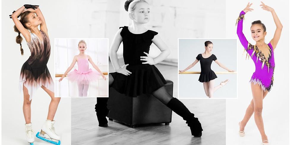 Курс кроя и шитья бально-спортивных платьев «Dancing & Sports» (пятница с 10:00 - 14:00).