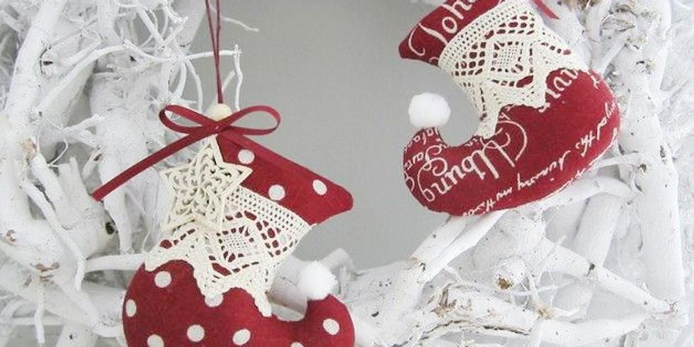 Мастер-класс по пошиву Новогоднего Сапожка для Подарков.