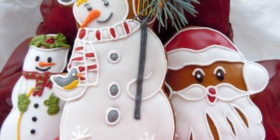 Мастер-класс по росписи рождественских пряников «ВКУСНОЕ ТВОРЧЕСТВО»