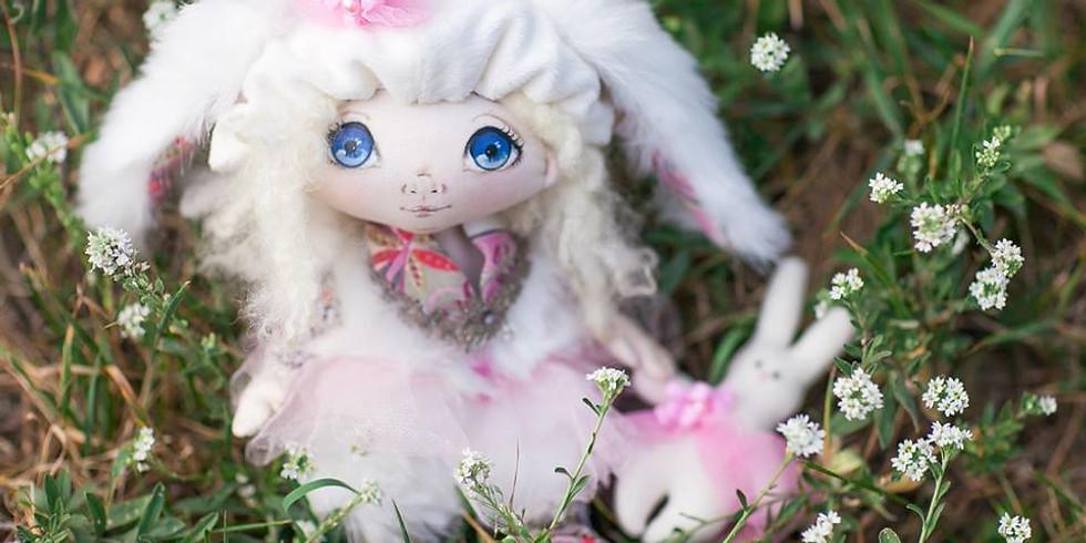 Мастер-класс по пошиву текстильной куклы.