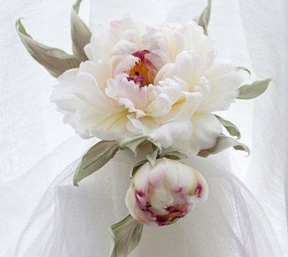 цветы из ткани мастер-класс сомебана
