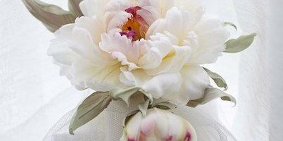 ПИОН - серия мастер-классов по шелковой ФЛОРИСТИКЕ (цветы из ткани в европейской и японской техниках). (1)