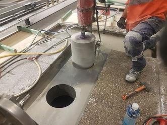 Online Concrete Cutting - Core Drilling