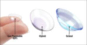 RGP Hybrid Scleral Lens