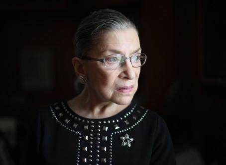 Remembering Ruth Bader Ginsburg.