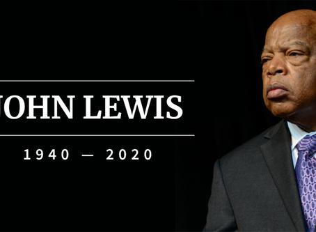 Remembering John Lewis.