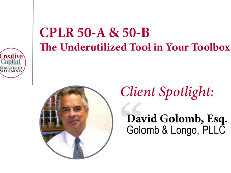 CPLR 50-A & 50-B: The Underutilized Tool in Your Toolbox.