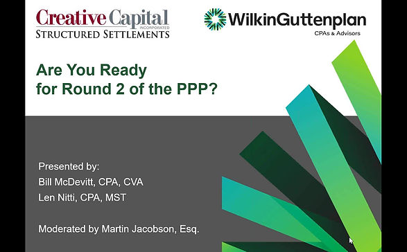 Webinar: Are you Ready for Round 2 of the PPP