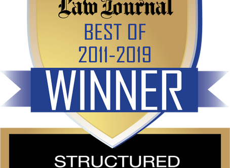 CCI Voted New York's Best Structured Settlement Provider 9yrs in a Row.
