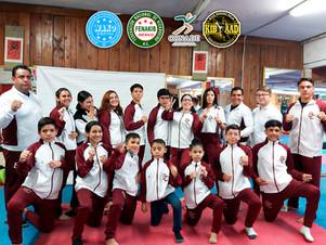 INDEBC otorga uniformes a los atletas representantes de Kickboxing Baja Asociación Deportiva, A.C.