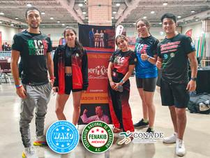 Atletas de la Selección Mexicana de Kickboxing tienen participación en AMERIKICK INTERNATIONALS
