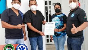 AEKIGRO firma convenio con el Centro Clínico Quiropráctico A&Q en pro del Kickboxing en Guerrero.
