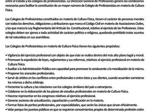 La Importancia De La Colegiación En La Cultura Física En México.