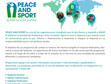 Peace & Sport: Enfoque y acciones.
