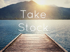 Taking Stock: The Prelude to the Infamous New Year's Resolution