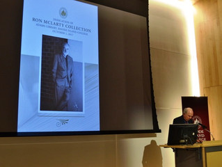 Opening of the Ron McLarty Collection to be housed at Rhode Island College