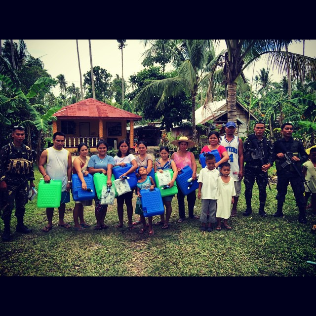 It's hard to realize that just a couple days ago I was in the jungles with these families