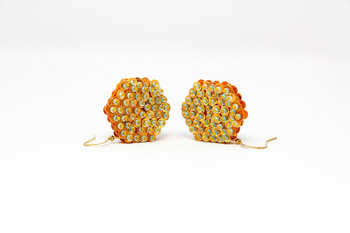 'Honeycomb' Earrings