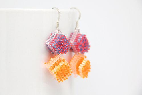 """""""Sugar Cube"""" Earrings"""