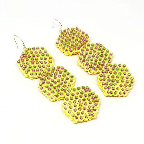 'Honeycomb' Earrings
