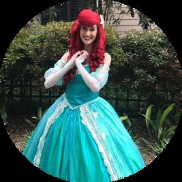 Mermaid Princess Ballgown