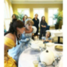 Cinderella and Beauty Princess Party