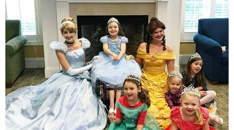 Cinderella and Beauty Princess Birthday