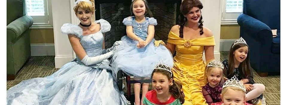 Cinderella and Beauty Princess Birthday