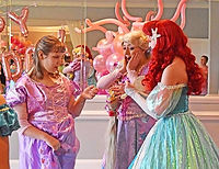 Princess Party with Rapunzel and the Lit