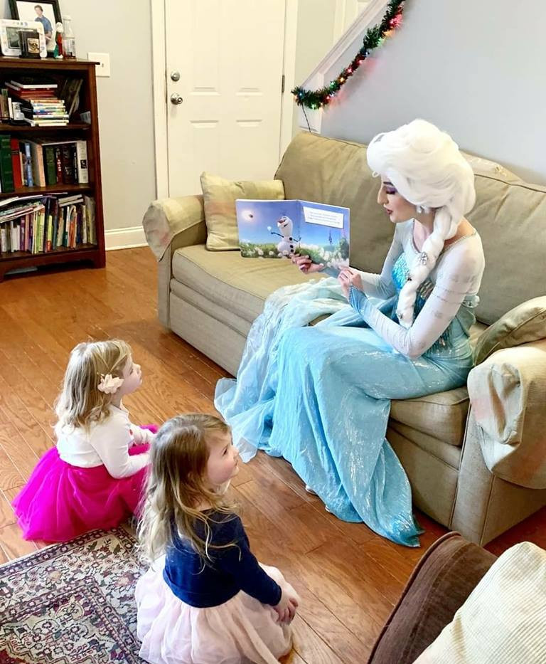 Storytime with the Snow Queen