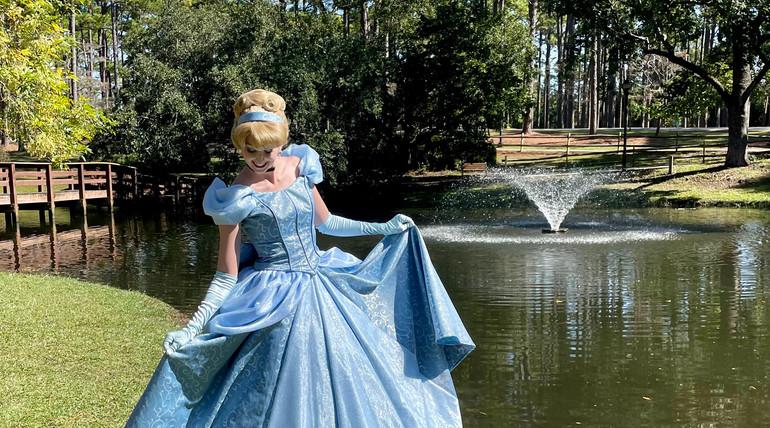 Cinderella Fairytales and Dreams by the Sea