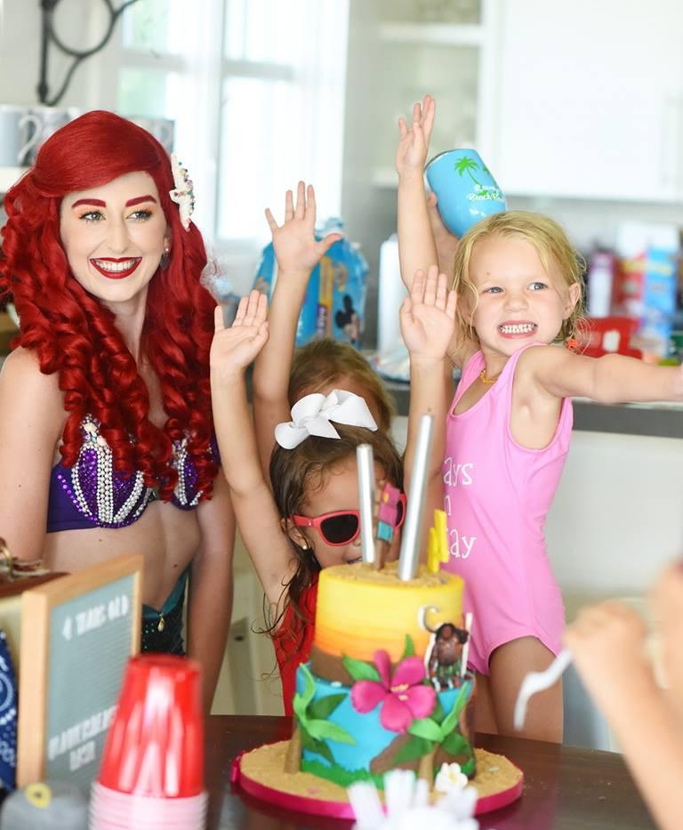 Mermaid Princess Birthday Party