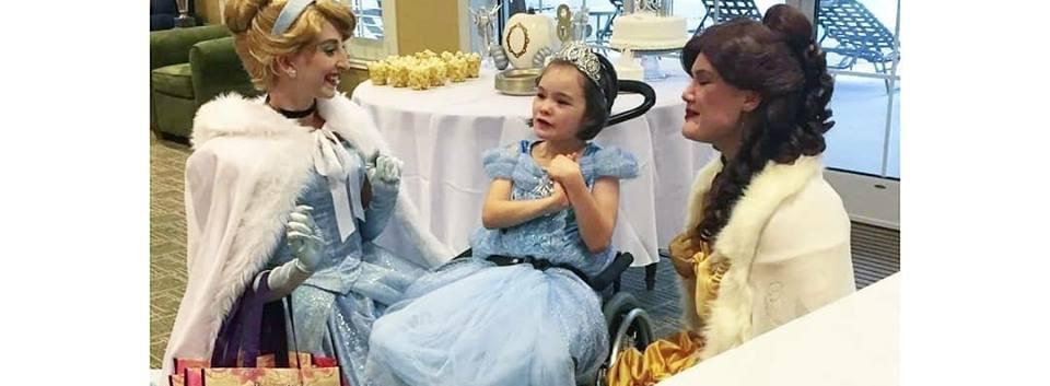 Beauty Princess and Cinderella Birthday