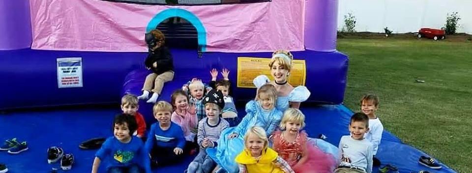 Cinderella Birthday Party Wilmington, NC