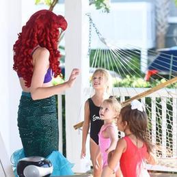 Mermaid Princess Birthday Party in Wrigh