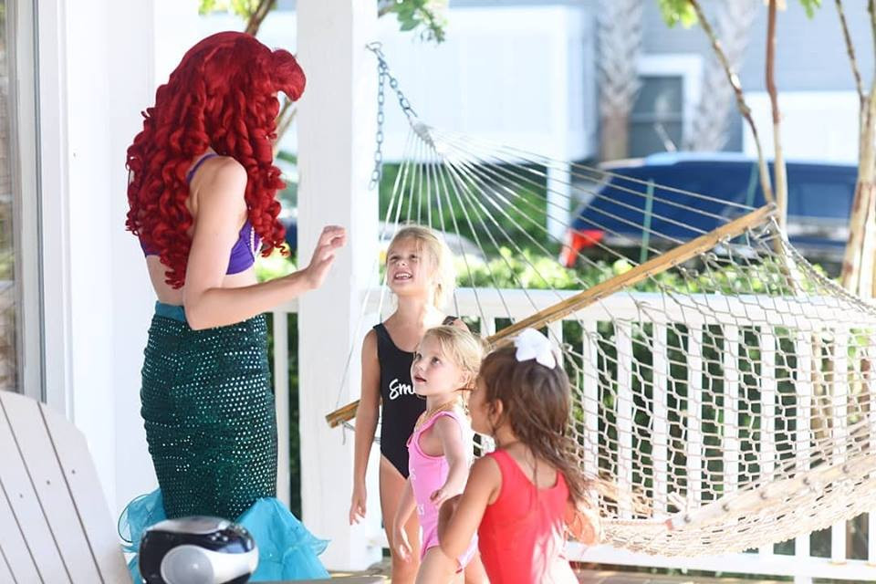 Mermaid Princess Birthday Party in Wrigh