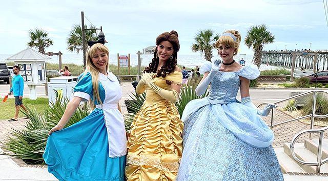 Alice, Beauty, and Cinderella at Princes